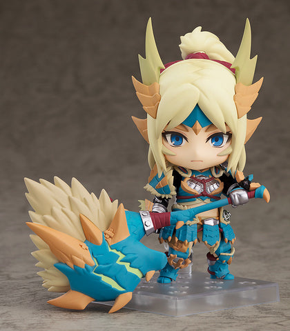 Nendoroid: Monster Hunger World: Iceborne - Hunter: Female Zinogre Alpha Armor Ver. DX ** PRE-ORDER **