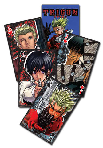 TRIGUN - PLAYING CARDS