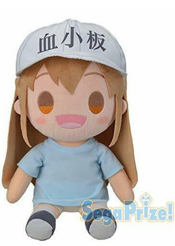 Cells at Work! - Platelet Mega Plush (Sega)