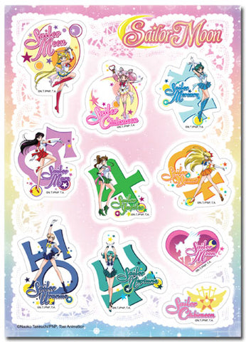 SAILOR MOON SUPER S - ICONS STICKER SET
