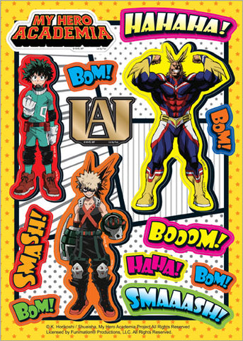 MY HERO ACADEMIA - ONOMATOPOEIA GROUP STICKER SET