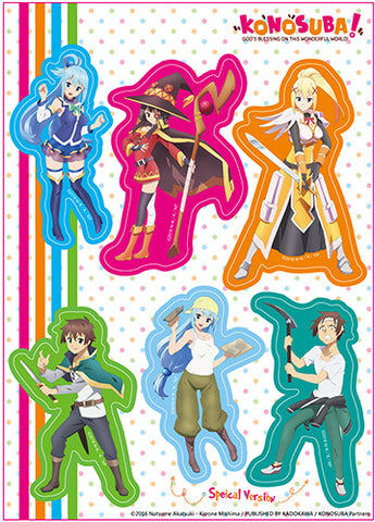 KONOSUBA - GROUP 001 STICKER SET