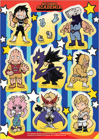 MY HERO ACADEMIA - S2 GROUP SD STICKER SET