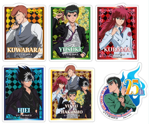 YU YU HAKUSHO - 25TH DIE-CUT STICKER SET