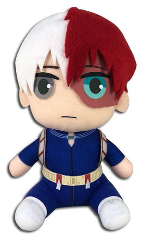 MY HERO ACADEMIA - TODOROKI HERO COSTUME SITTING PLUSH 7""
