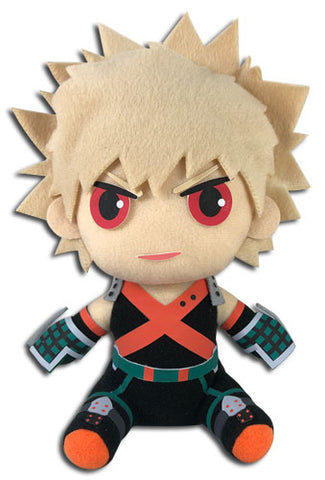 MY HERO ACADEMIA - BAKUGO HERO COSTUME SITTING PLUSH 8""