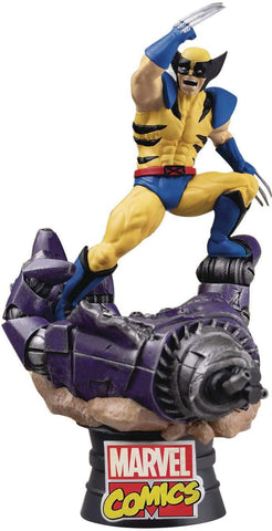 D-Stage Diorama PVC Statue: WOLVERINE
