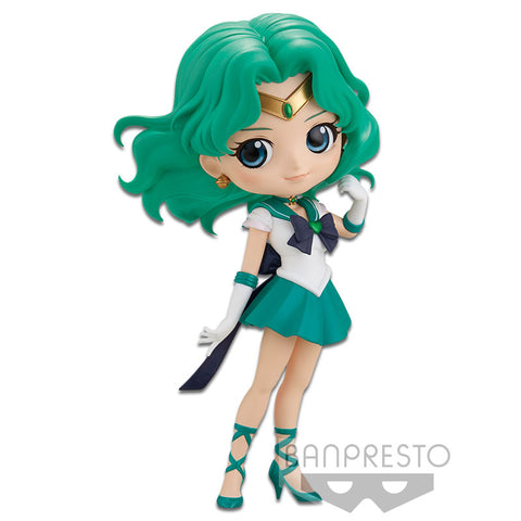 SAILOR MOON ETERNAL THE MOVIE - Q POSKET - SUPER SAILOR NEPTUNE (VER.A) **Pre-Order**
