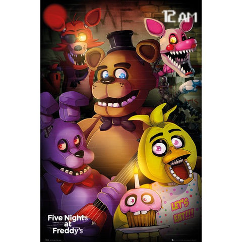 54 - Five Nights at Freddy's Group Poster