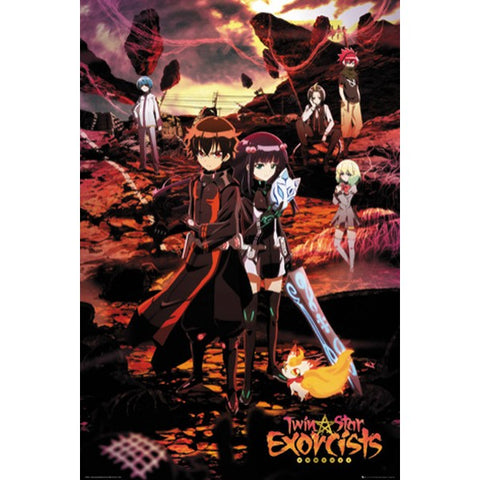 28 - Twin Star Exorcists Poster