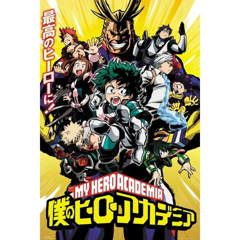 39 - My Hero Academia Season 1 Poster