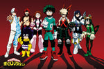 12 - My Hero Academia Line Up Poster