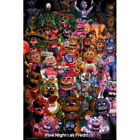 52 - Five Nights at Freddys Ultimate Group Poster