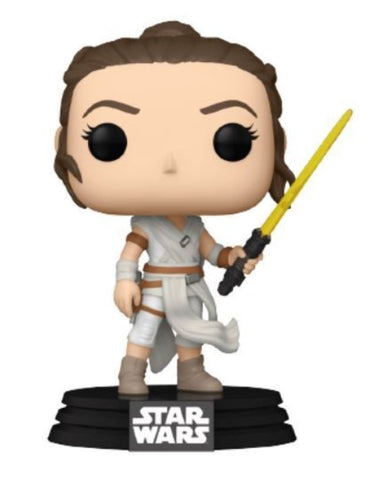 Star Wars - Rey with Yellow Saber Pop! Vinyl