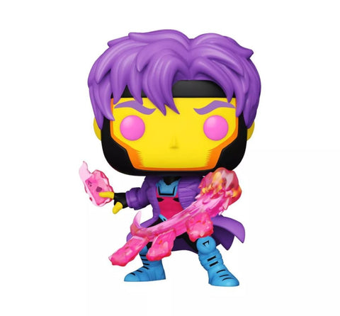 X-Men - Gambit Blacklight US Exclusive Pop! Vinyl