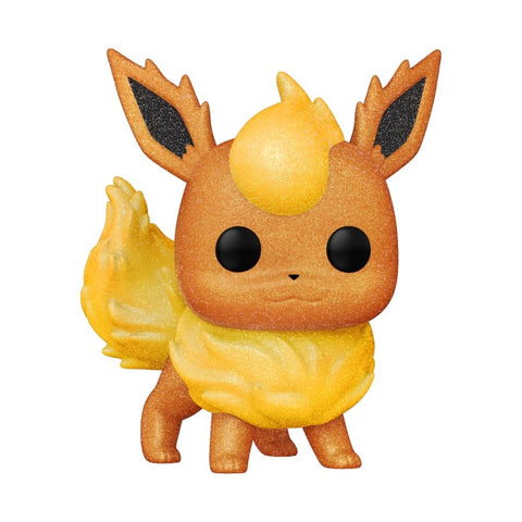 Pokemon - Flareon Diamond Glitter WC21 US Exclusive Pop! Vinyl
