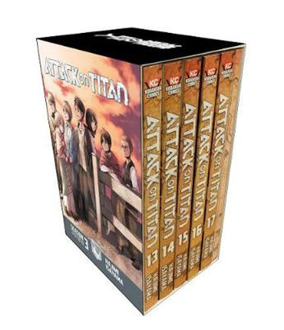 Attack On Titan Season 3: Manga Box Set