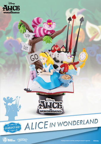 D-Stage Diorama PVC Statue: Alice in Wonderland