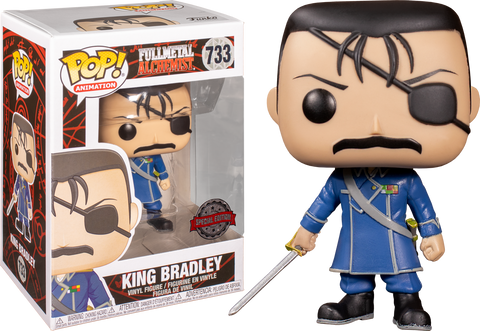Full Metal Alchemist - King Bradley US Exclusive Pop! Vinyl