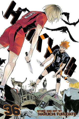 Haikyu!!, Vol. 36