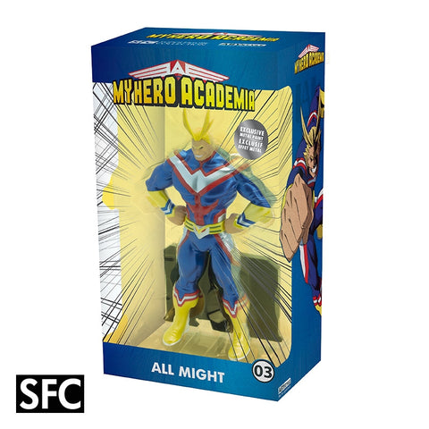 MY HERO ACADEMIA Figurine - All Might - Metal foil effect