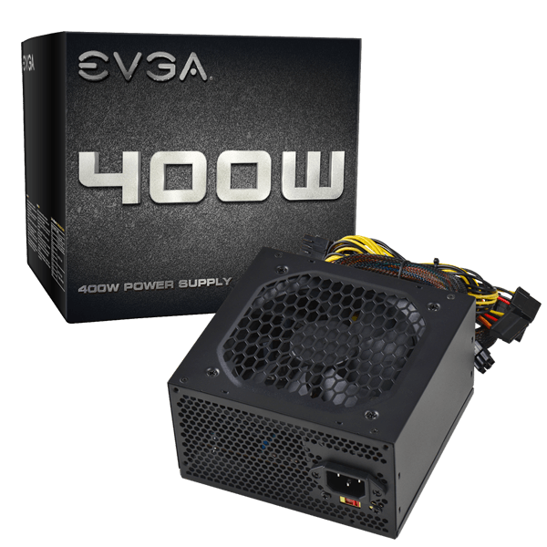 Alimentation EVGA 400W Ventilateur 120mm Silencieux - KindInformatique.com Inc.