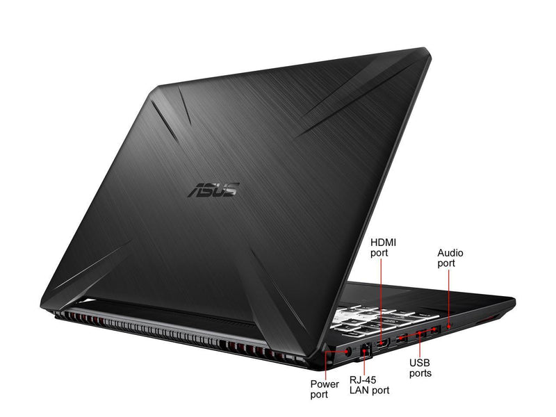 "Portable Gaming ASUS FX505 15.6"" Full HD LED Core i5-9300H 8GB DDR4 512GB NVMe NVIDIA GeForce GTX 1650 4GB Windows 10 Home"