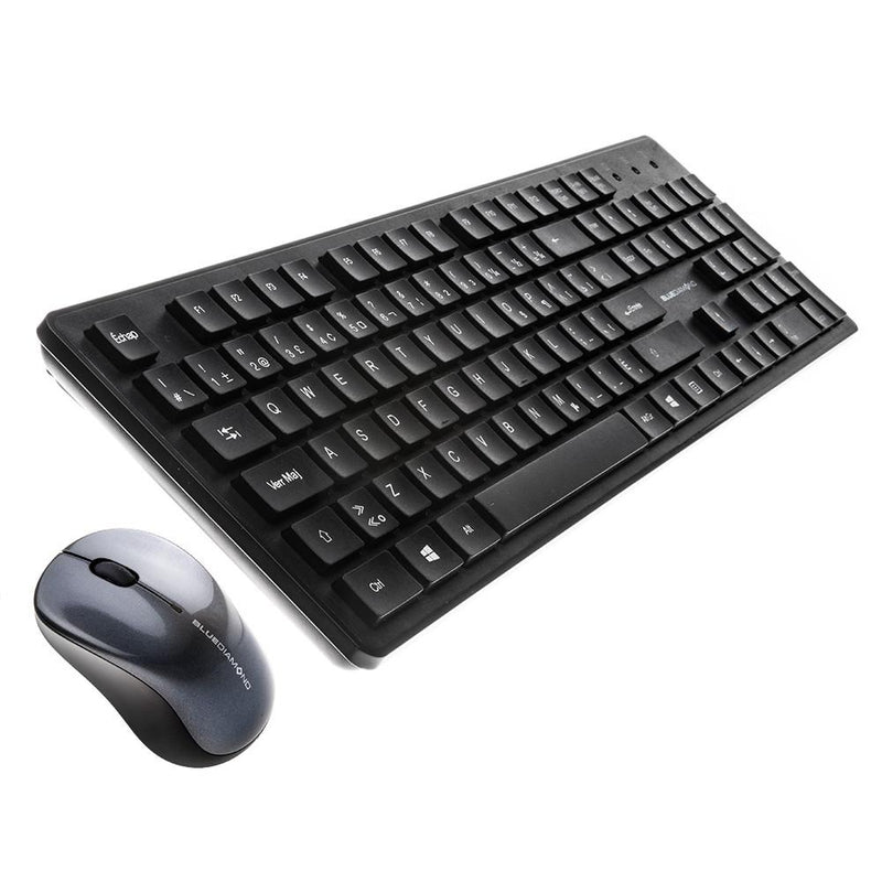 Combo Clavier Souris Sans Fil BlueDiamond Connect - Français - KindInformatique.com Inc.