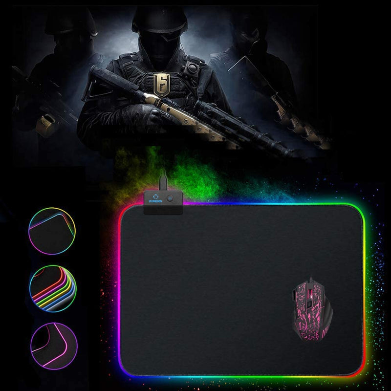 Tapis de souris Gaming RGB - Large - KindInformatique.com Inc.