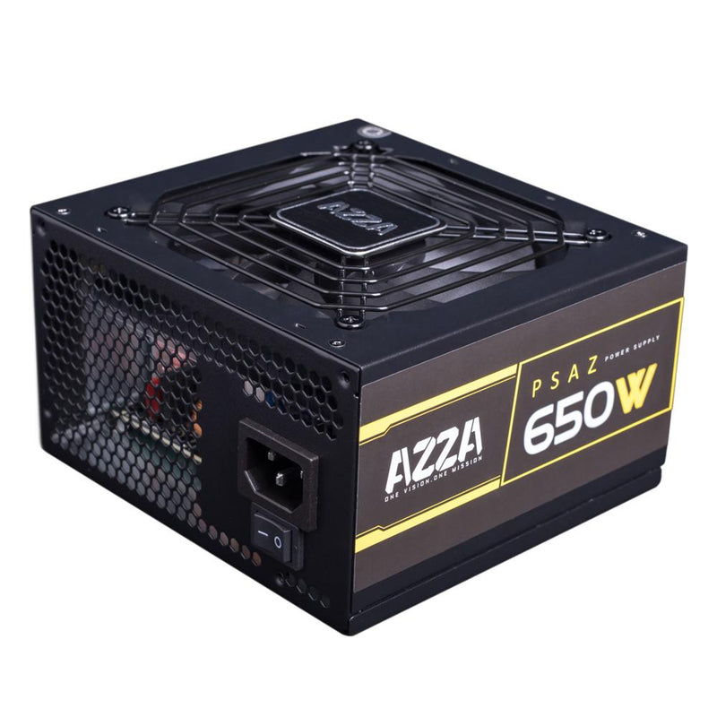 Alimentation AZZA 650W 80PLUS Bronze Ventilateur 120mm Silencieux - KindInformatique.com Inc.