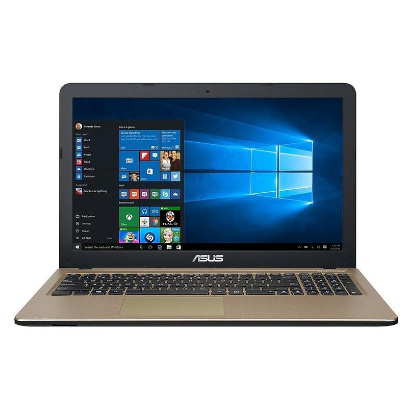 "Portable Asus VivoBook 15 X540 15.6"" LED Intel N3350 4Gb 480Gb SSD Windows 10"
