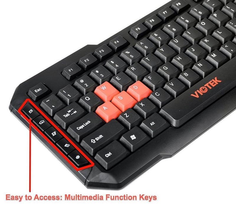 Combo Clavier Souris Sans Fil Viotek HawkPeck - KindInformatique.com Inc.