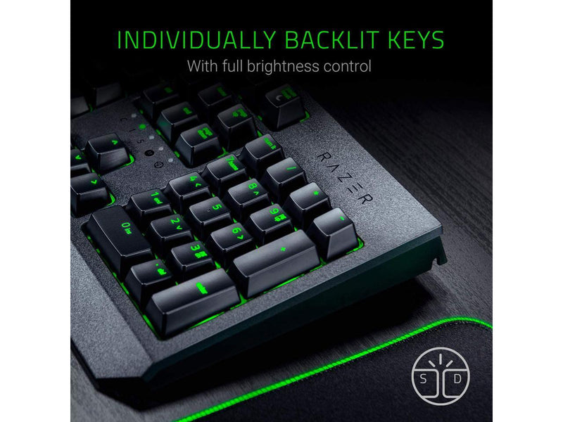 Clavier Gaming Mécanique USB Razer BlackWidow Essential Rétroéclairage Vert - KindInformatique.com Inc.