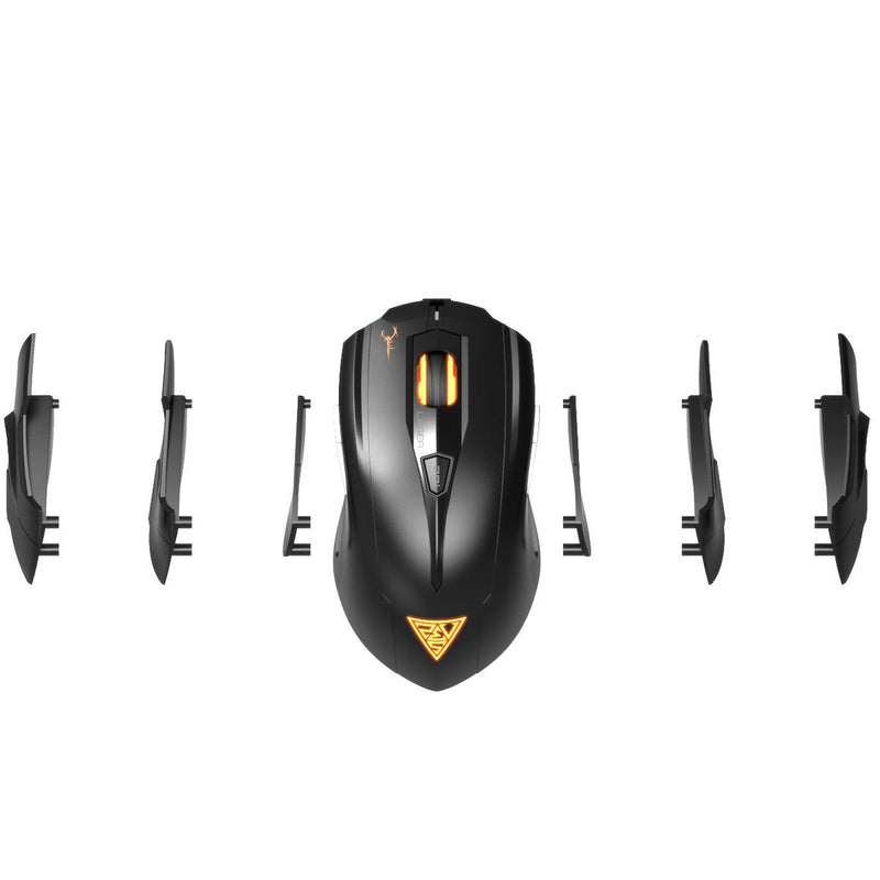 *LIQUIDATION* Souris Gaming USB Gamdias HADES Laser 8200dpi 8 Boutons - KindInformatique.com Inc.