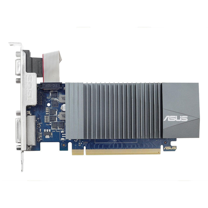 Carte Graphique Asus GeForce GT710 2Gb GDDR5 HDMI DVI VGA - KindInformatique.com Inc.