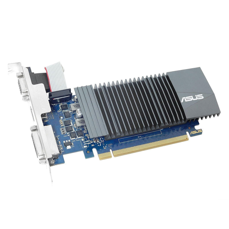 Carte Graphique Asus GeForce GT710 1Gb GDDR5 HDMI DVI VGA - KindInformatique.com Inc.