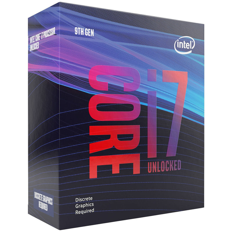 Processeur Intel Core i7-9700KF 3.60Ghz / 4.90Ghz Turbo Boost Unlock 12Mb Cache LGA1151 - KindInformatique.com Inc.