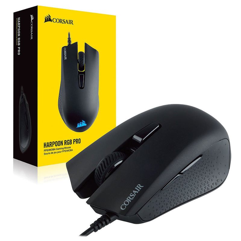 Souris Gaming USB Corsair Harpoon RGB PRO 12000dpi 6 Boutons - KindInformatique.com Inc.