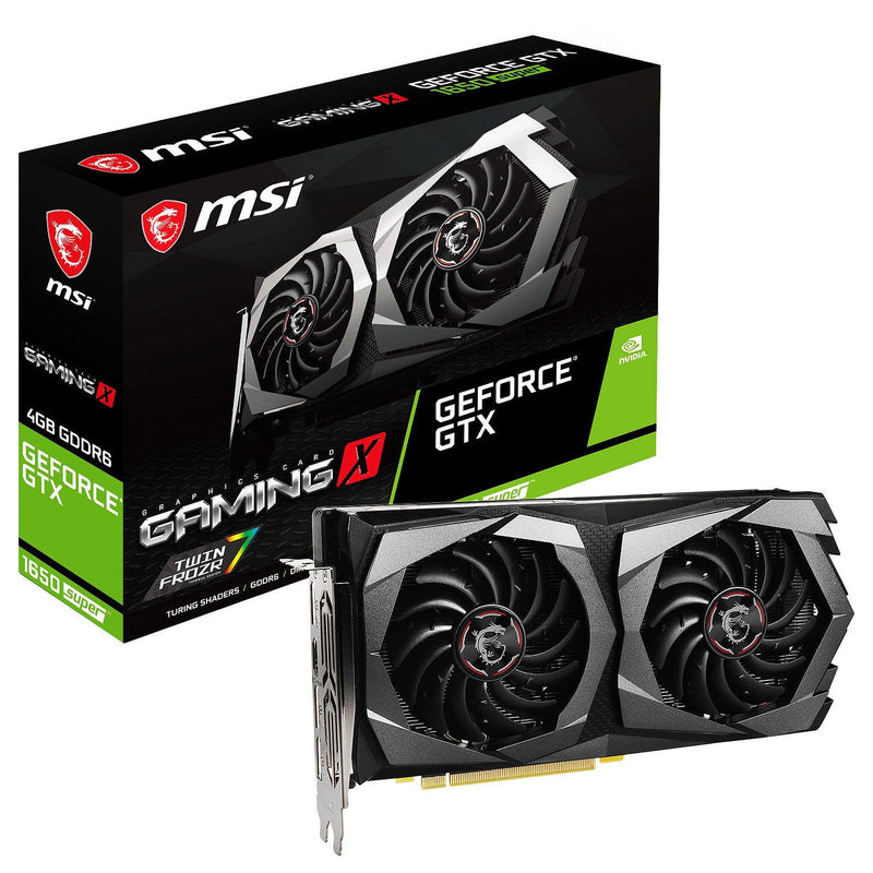 Carte Graphique MSI GeForce GTX 1650 SUPER GAMING X 4Gb GDDR6