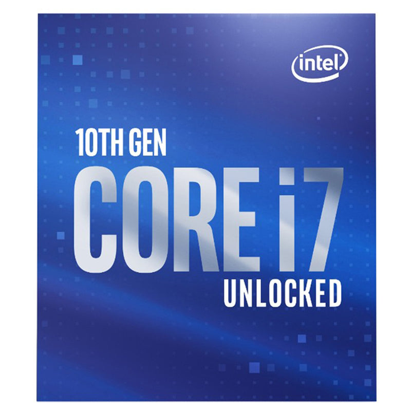 Processeur Intel Core i7-10700K 3.80Ghz / 5.10Ghz Turbo Boost Unlock 16Mb Cache LGA1200 - KindInformatique.com Inc.