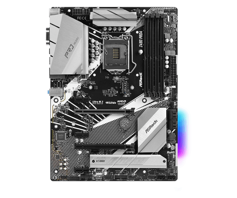 Carte Mère ASROCK Z490 Pro4 LGA1200 ATX - KindInformatique.com Inc.