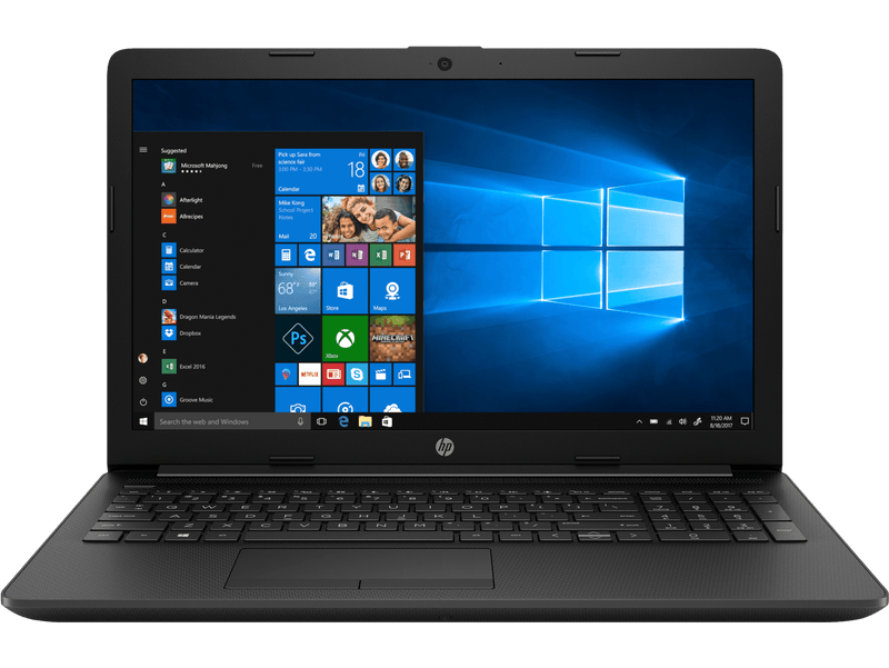 "Portable HP 15 15.6"" LED AMD A4-9125 2.60Ghz Turbo 4Gb DDR4 500Gb Windows 10"