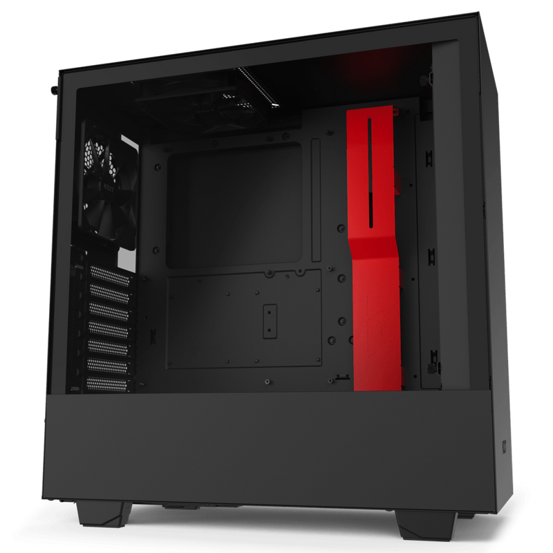 Boîtier Gaming NZXT H510i Noir/Rouge ATX - KindInformatique.com Inc.
