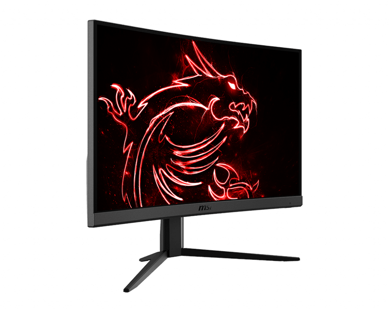 "Moniteur Gaming Incurvé MSI Optix G24C4 24"" LED Full HD 1080p 144Hz 1ms HDMI Display Port"