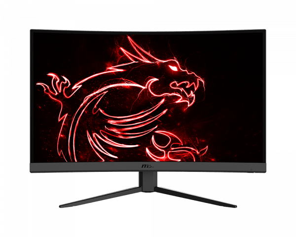 "Moniteur Gaming Incurvé MSI Optix G27C4W 27"" LED Full HD 1080p 165Hz 1ms HDMI Display Port"