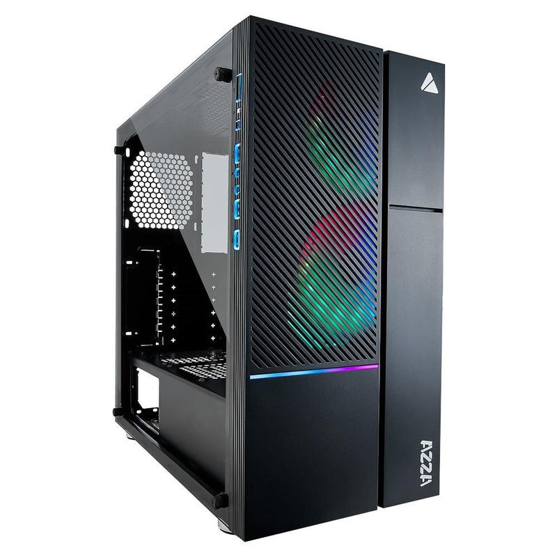 Boîtier Gaming AZZA IRIS 330 RGB ATX - KindInformatique.com Inc.