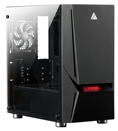 Boîtier Gaming AZZA Luminous 110 mATX - KindInformatique.com Inc.