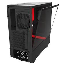 Boîtier Gaming NZXT H510 Noir/Rouge ATX - KindInformatique.com Inc.