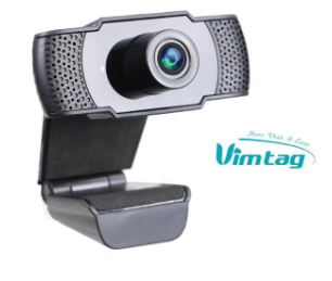 Webcam Vimtag 1080p avec microphone - USB - KindInformatique.com Inc.