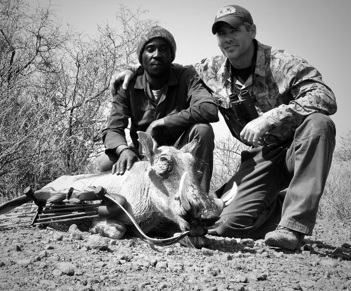 Pathfinder Outdoors in Namibia: 'Warthog x Two'